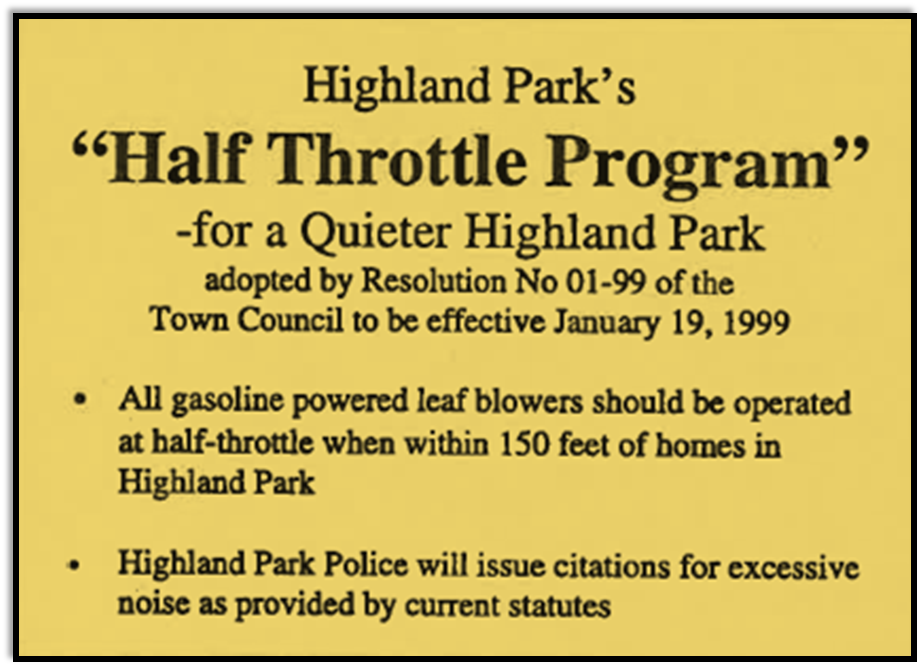 Half Throttle Program resolution text