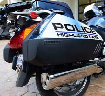 Highland Park Police Motorcycle